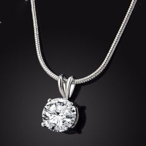 CZ Pendant On A Chain
